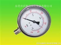 全不锈钢耐高温蒸汽压力表