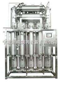 内螺旋多效蒸馏水机简介