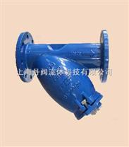 上海丹阀Y型不锈钢过滤器